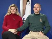 Randy & Rebecca Bresnik (Image From NASA)