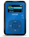 Sansa Clip+ 4GB in Blue.      Image: SanDisk