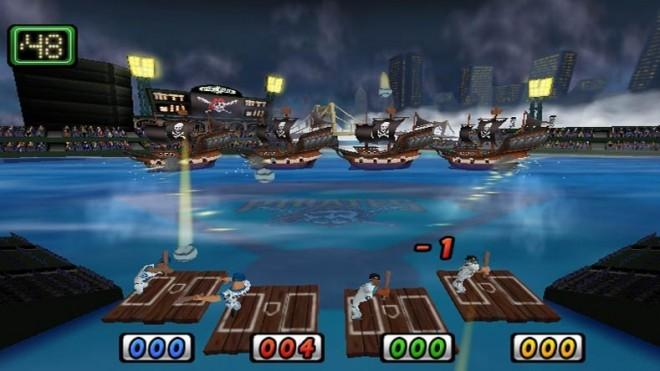 Minigame mashup: Pirates and Sluggers      Screenshot: 2K Sports