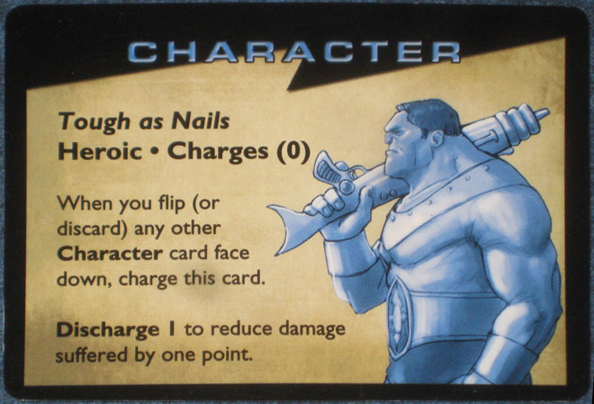 Character card: Tough as Nails