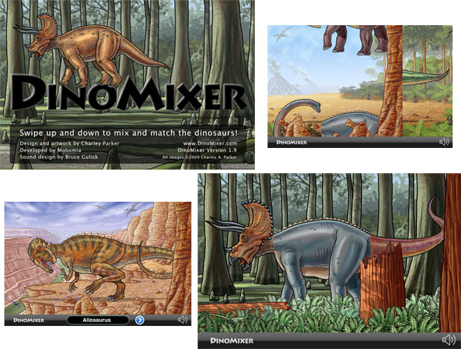 Dinomixer for the iPhone