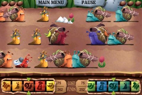 The Slug Wars battlefield