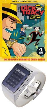 Dick Tracy vs. LG (images: Amazon / LG)