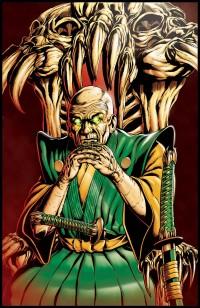 Chozen, the villian, from Bushi Tales #3. (Image courtesy of Dave Beaty)