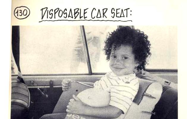 Disposable Car Seat