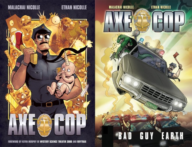 Axe Cop Covers
