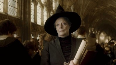 Maggie Smith as Prof McGonagall