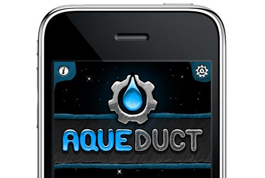 Aqueduct title screen