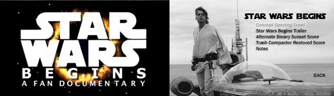 Star Wars Begins, by Jamie Benning
