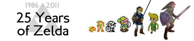 1986 - 2011. 25 Years of Zelda.