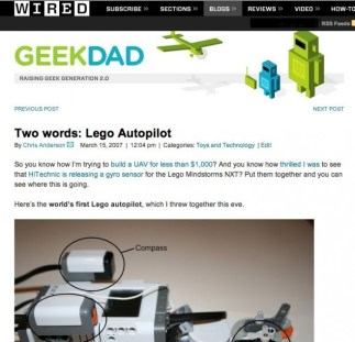 first GeekDad post