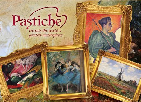 Pastiche game box
