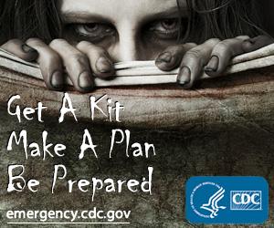 Get a Kit. Make a Plan. Be Prepared. emergency.cdc.gov