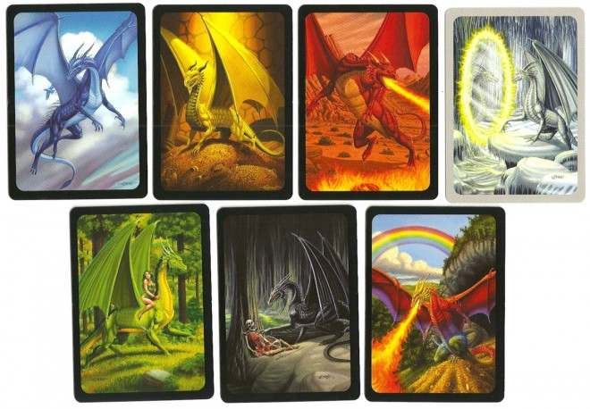 Seven Dragons cards