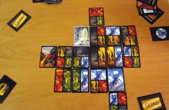 7 Dragons game in progress