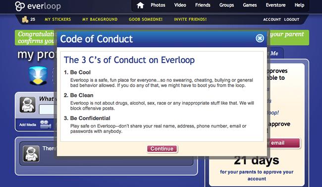 Everloop's Code of Conduct
