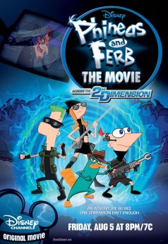 Phineas and Ferb movie poster