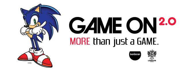 Game On 2.0 banner