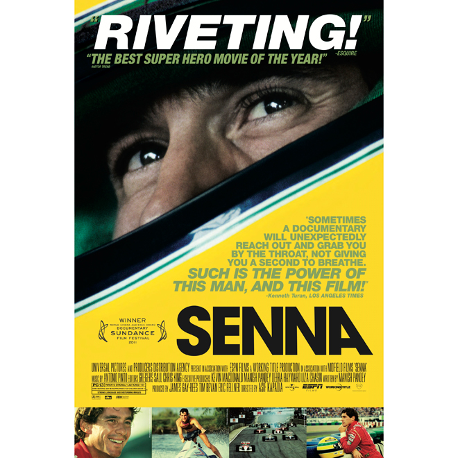 """Senna"" Movie Poster"