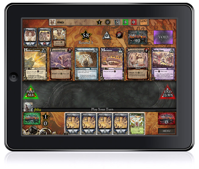 Gary Games' Ascension on the iPad