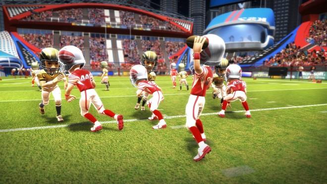 Football screenshot in Kinect Sports: Season Two