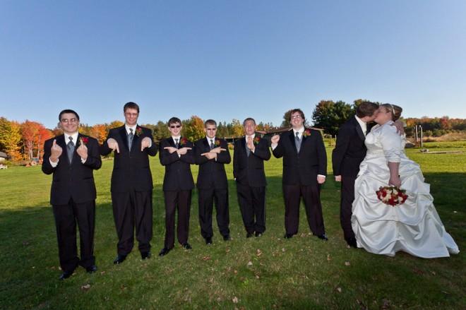 Konami wedding