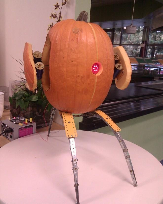 turret pumpkin
