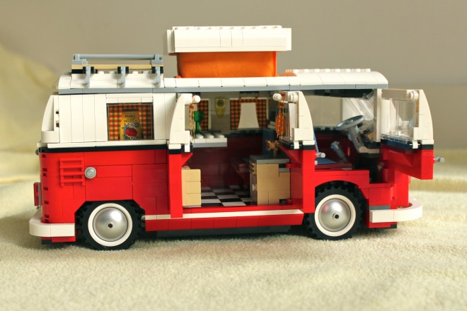 Lego VW Campervan, photo by Nathan Barry
