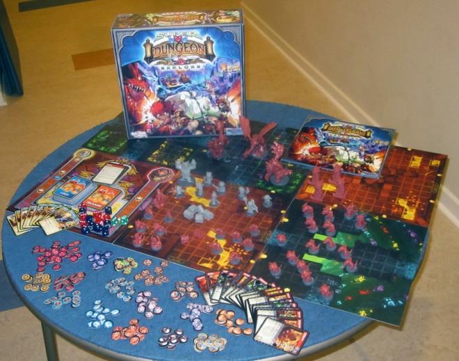 Super Dungeon Explore contents