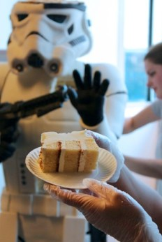 A slice of stormtrooper? (photo courtesy of Amanda Oakleaf)