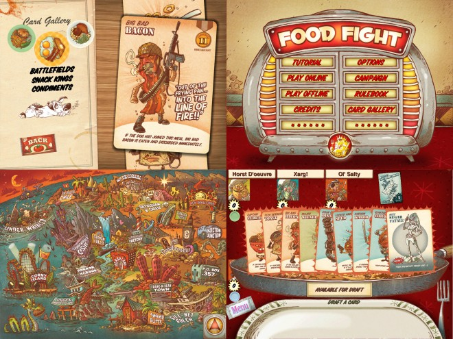 Food Fight screenshots