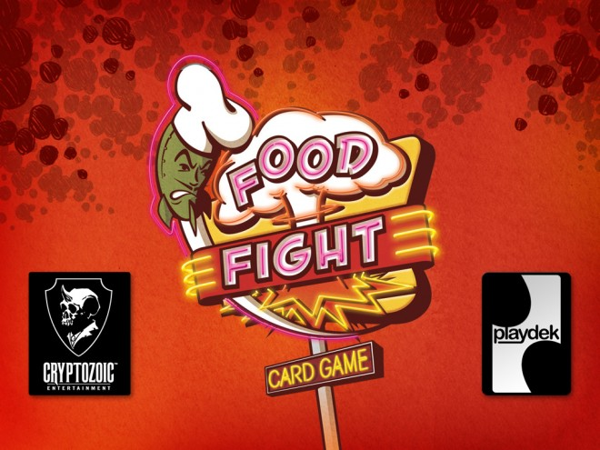 Food Fight title screen