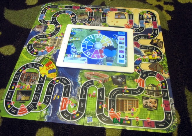 Game of Life Zapped - board with iPad