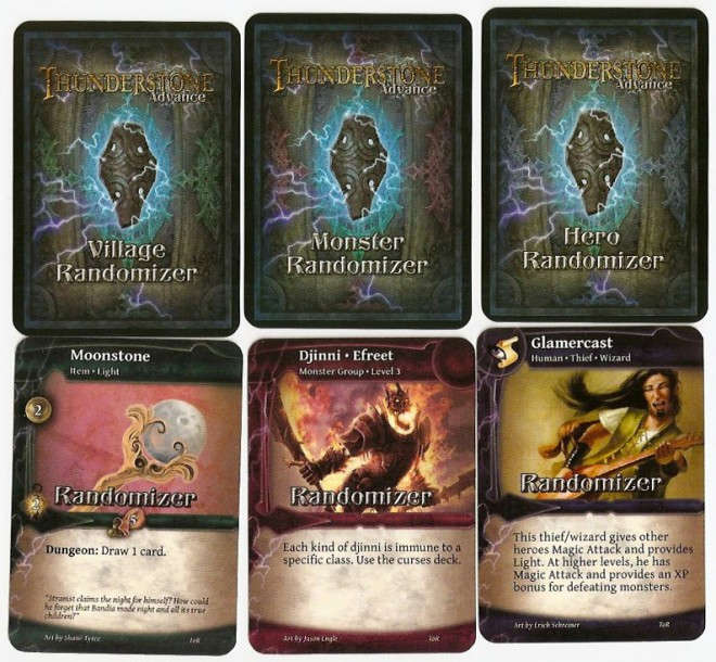 Thunderstone Advance randomizer cards