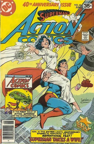 Action Comics Anniversary issue, Lois & Clark