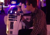 R2D2 Talks to Andy Robertson