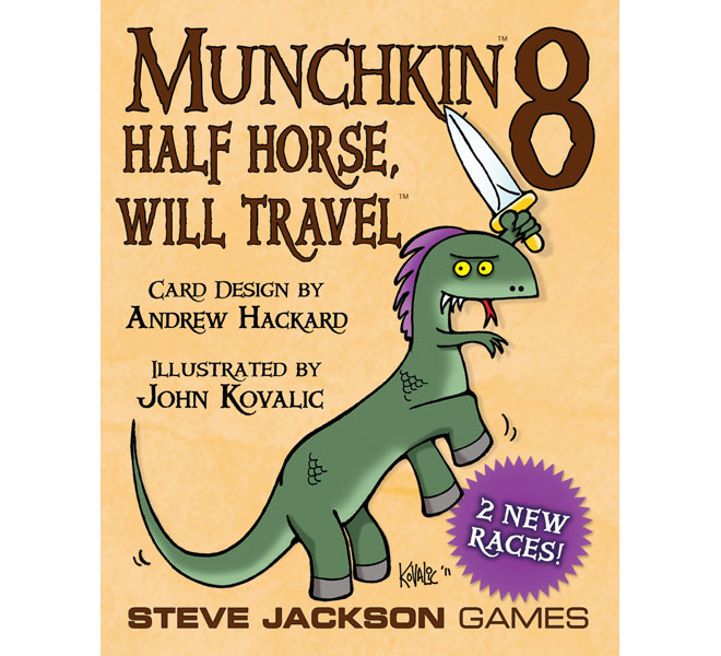 Munchkin returns, stranger and funnier than ever