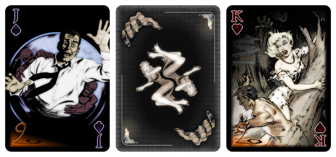 Woe to the Living cards