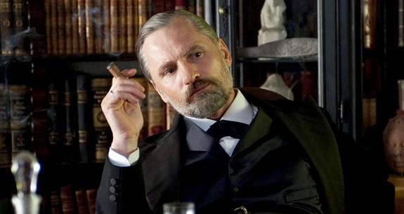 Mortensen as Freud in A Dangerous Method