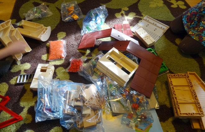 Playmobil farm pieces