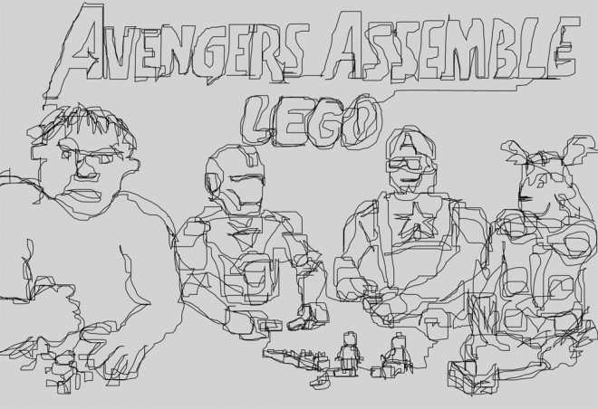 Avengers Assemble Lego