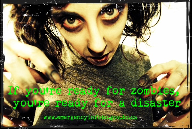 Are you prepared for zombie attack?