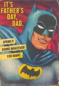 Hallmark cards, Father's Day, Batman