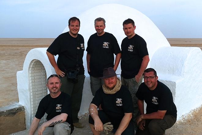 The Saviours - back row: Robert Cunningham, Imanuel Dijk, Mark Cox. front row: Terry Cooper, Mark Dermul, Michel Verpoorten