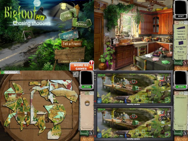 Bigfoot screenshots