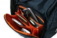 Bright orange interior and many storage pockets make the Wise Walker WL-25 Backpack great for students, commuters or travelers.