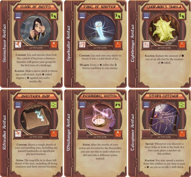 Story Realms artifacts