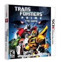 Transformers Prime: The Game box art
