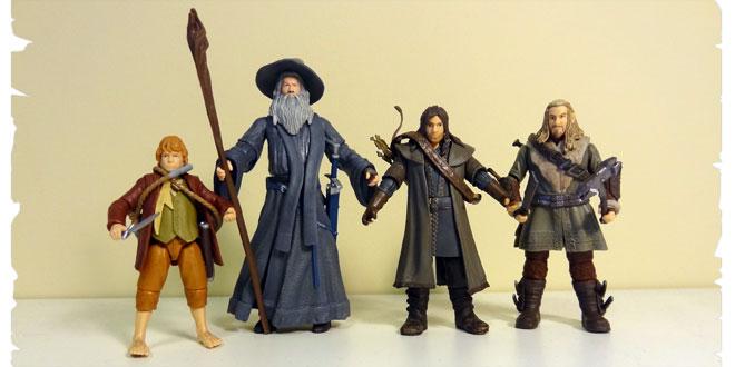 Hobbit figures