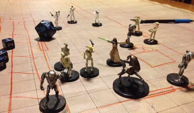 Roleplaying game encounter aboard a Seperatist strike cruiser